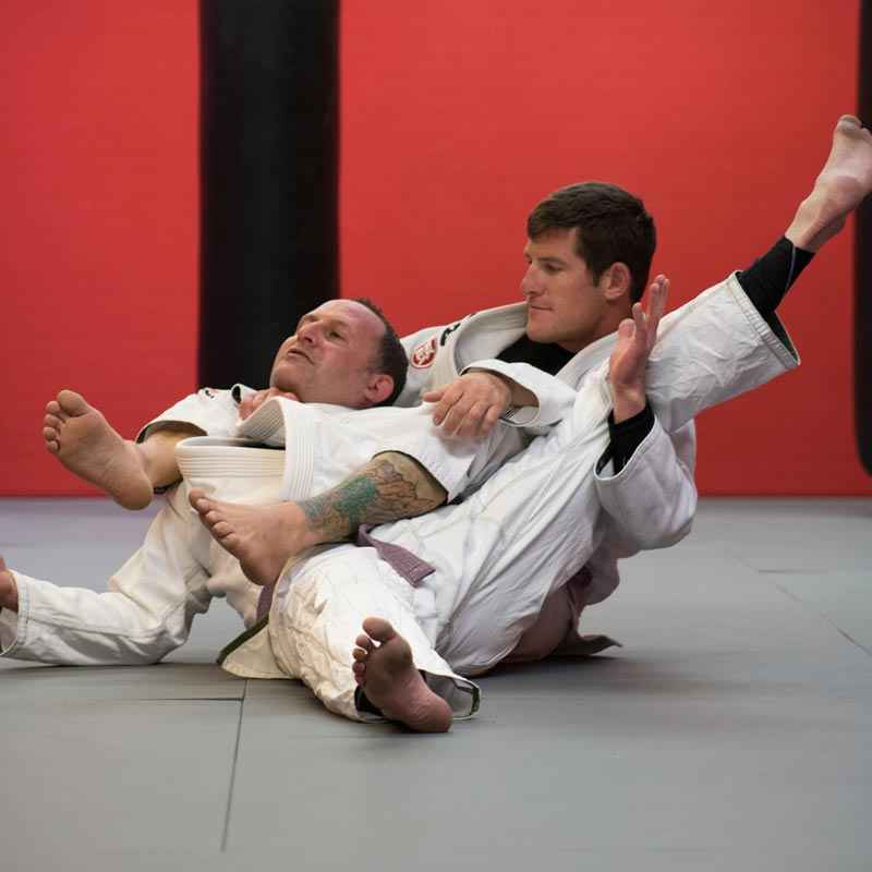 Eric Leach at a jiu-jitsu match